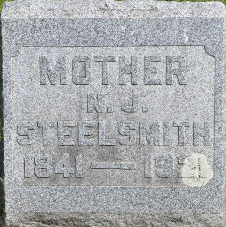 STEELSMITH, N. J. - Grundy County, Iowa   N. J. STEELSMITH