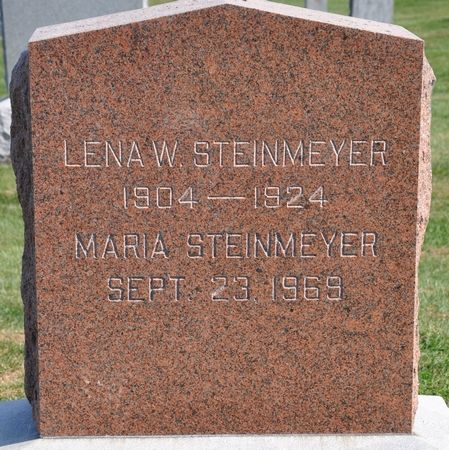 STEINMEYER, MARIA - Grundy County, Iowa | MARIA STEINMEYER