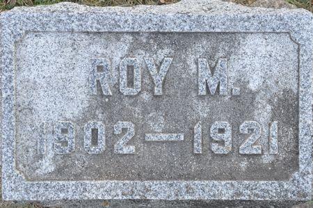 STEVENS, ROY M. - Grundy County, Iowa   ROY M. STEVENS