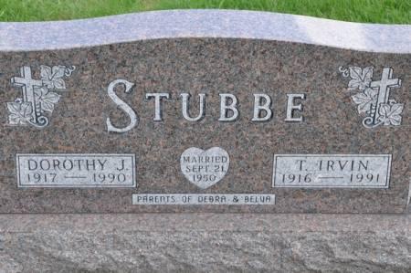 STUBBE, T. IRVIN - Grundy County, Iowa | T. IRVIN STUBBE