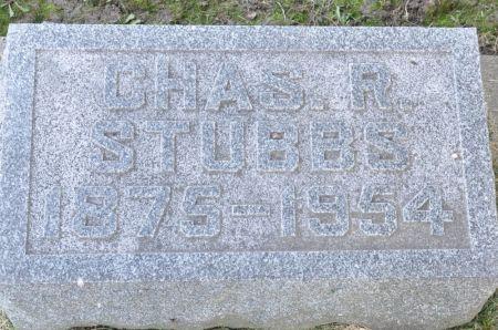 STUBBS, CHAS. R. - Grundy County, Iowa | CHAS. R. STUBBS