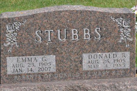 STUBBS, DONALD B. - Grundy County, Iowa | DONALD B. STUBBS