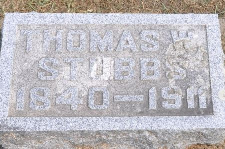 STUBBS, THOMAS W. - Grundy County, Iowa | THOMAS W. STUBBS