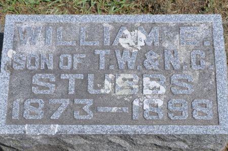 STUBBS, WILLIAM E. - Grundy County, Iowa   WILLIAM E. STUBBS
