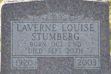 STUMBERG, LAVERNE LOUISE - Grundy County, Iowa | LAVERNE LOUISE STUMBERG