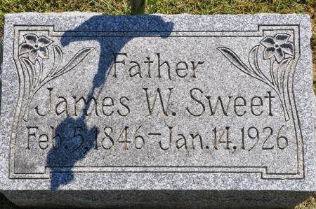 SWEET, JAMES W. - Grundy County, Iowa   JAMES W. SWEET