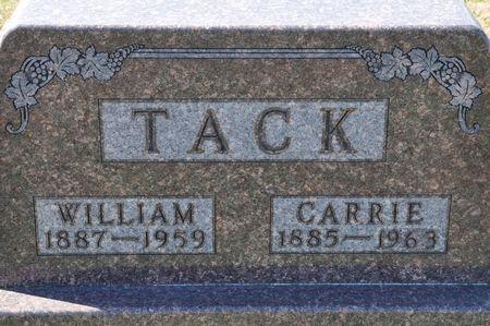 TACK, WILLIAM - Grundy County, Iowa   WILLIAM TACK