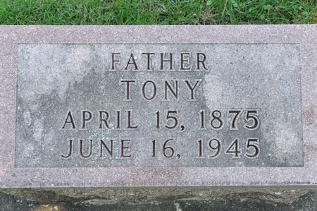 TASLERS, TONY - Grundy County, Iowa   TONY TASLERS
