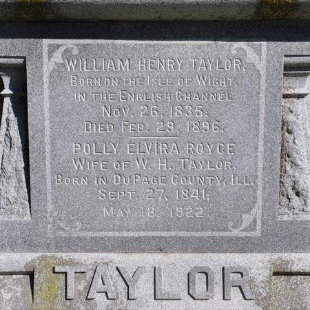 TAYLOR, WILLIAM HENRY - Grundy County, Iowa   WILLIAM HENRY TAYLOR