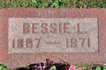 THOMPSON, BESSIE L. - Grundy County, Iowa   BESSIE L. THOMPSON