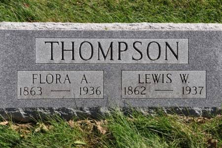 THOMPSON, FLORA A. - Grundy County, Iowa | FLORA A. THOMPSON