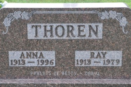 THOREN, ANNA - Grundy County, Iowa | ANNA THOREN