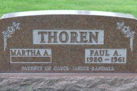 THOREN, PAUL A. - Grundy County, Iowa | PAUL A. THOREN
