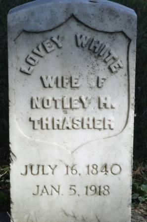 THRASHER, LOVEY (WHITE) - Grundy County, Iowa | LOVEY (WHITE) THRASHER