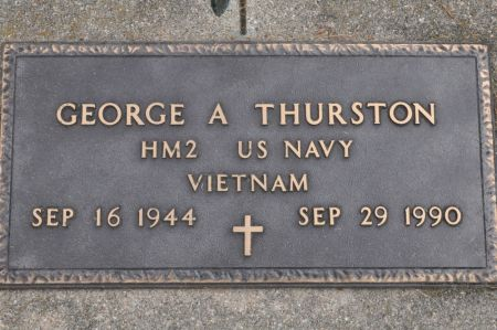 THURSTON, GEORGE A. - Grundy County, Iowa | GEORGE A. THURSTON