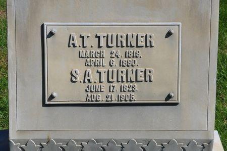 TURNER, A. T. - Grundy County, Iowa | A. T. TURNER