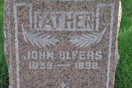 ULFERS, JOHN - Grundy County, Iowa | JOHN ULFERS
