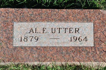 UTTER, AL. E. - Grundy County, Iowa | AL. E. UTTER