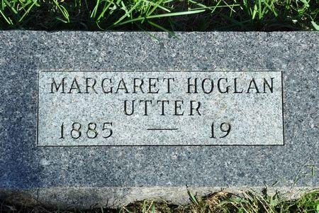UTTER, MARGARET (HOGLAN) - Grundy County, Iowa   MARGARET (HOGLAN) UTTER
