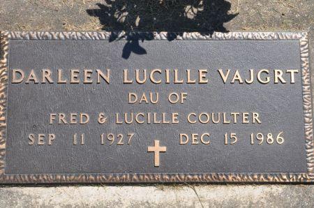 VAJGRT, DARLEEN LUCILLE - Grundy County, Iowa | DARLEEN LUCILLE VAJGRT