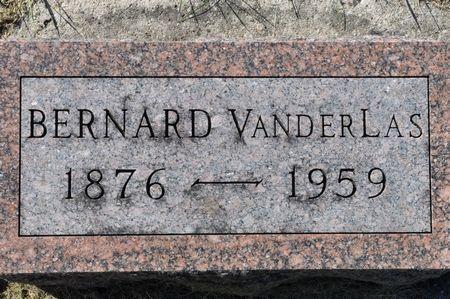 VANDERLAS, BERNARD - Grundy County, Iowa | BERNARD VANDERLAS