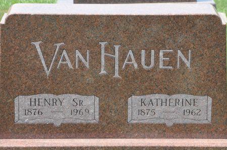 VANHAUEN, HENRY SR. - Grundy County, Iowa | HENRY SR. VANHAUEN