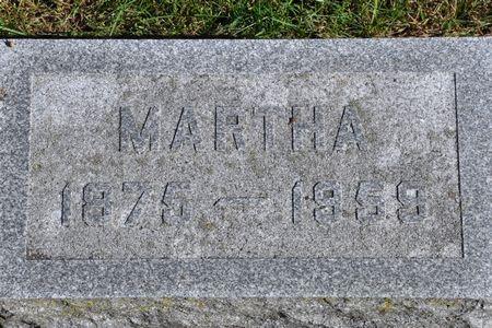 WALLACE, MARTHA - Grundy County, Iowa   MARTHA WALLACE