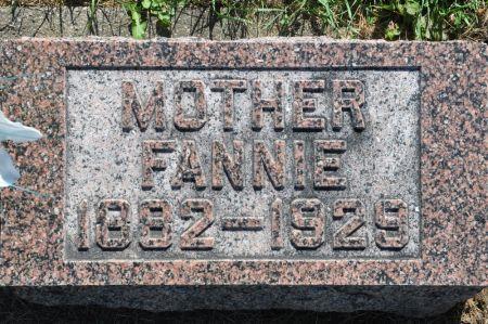 WALTERS, FANNIE - Grundy County, Iowa | FANNIE WALTERS
