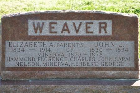 WEAVER, JOHN J. - Grundy County, Iowa   JOHN J. WEAVER