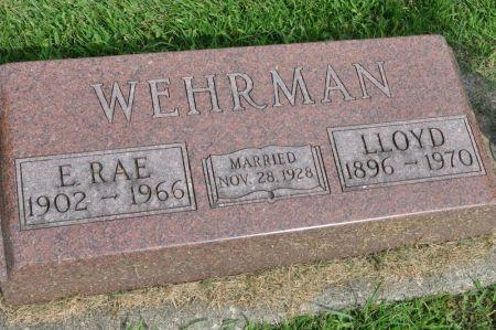 WEHRMAN, E. RAE - Grundy County, Iowa | E. RAE WEHRMAN