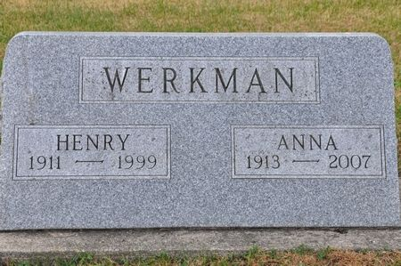 WERKMAN, HENRY - Grundy County, Iowa | HENRY WERKMAN