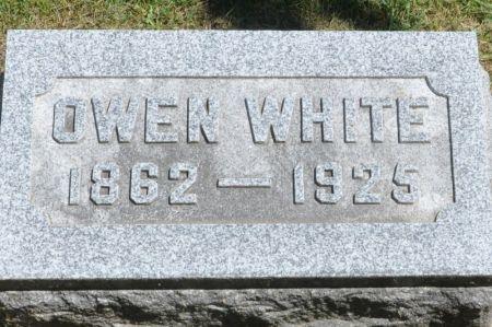WHITE, OWEN - Grundy County, Iowa | OWEN WHITE