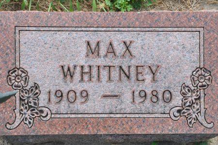 WHITNEY, MAX - Grundy County, Iowa | MAX WHITNEY