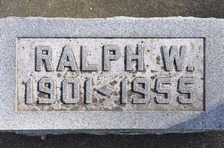 WHORRALL, RALPH W. - Grundy County, Iowa   RALPH W. WHORRALL