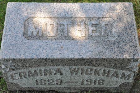 WICKHAM, ERMINA - Grundy County, Iowa | ERMINA WICKHAM