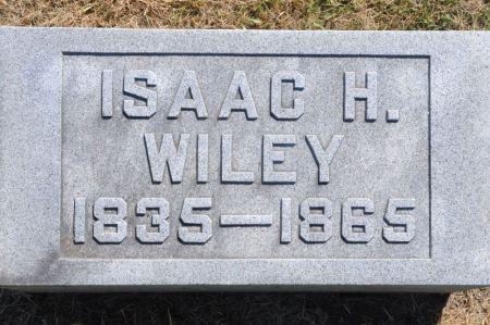 WILEY, ISAAC H. - Grundy County, Iowa | ISAAC H. WILEY