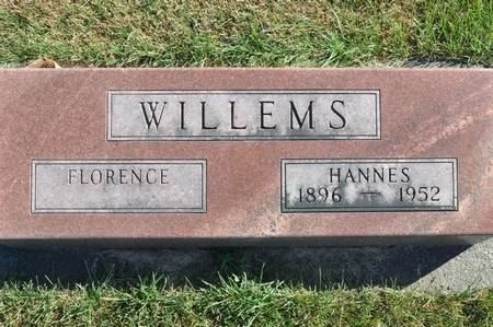 WILLEMS, FLORENCE - Grundy County, Iowa | FLORENCE WILLEMS