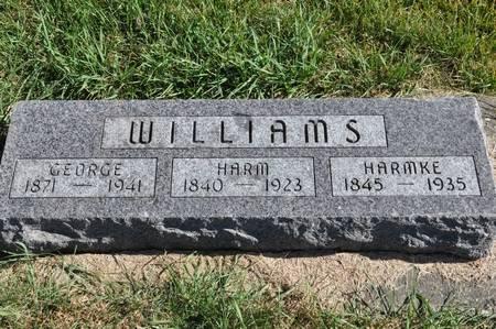 WILLIAMS, HARM - Grundy County, Iowa | HARM WILLIAMS