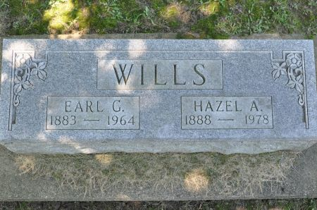 WILLS, HAZEL A. - Grundy County, Iowa | HAZEL A. WILLS