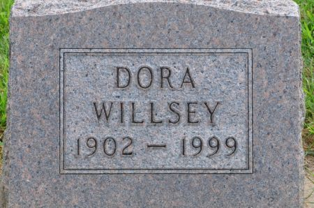 WILLSEY, DORA - Grundy County, Iowa | DORA WILLSEY