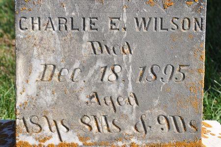 WILSON, CHARLIE E. - Grundy County, Iowa | CHARLIE E. WILSON
