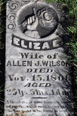 WILSON, ELIZA E. - Grundy County, Iowa | ELIZA E. WILSON