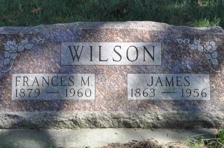 WILSON, FRANCES M. - Grundy County, Iowa | FRANCES M. WILSON