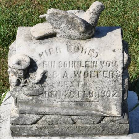 WOLTERS, INFANT SON OF J. & A. - Grundy County, Iowa | INFANT SON OF J. & A. WOLTERS