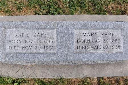 ZAPF, KATIE - Grundy County, Iowa | KATIE ZAPF