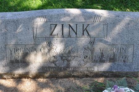 ZINK, W. JOHN - Grundy County, Iowa   W. JOHN ZINK