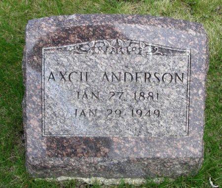 ANDERSON, AXCII - Guthrie County, Iowa   AXCII ANDERSON