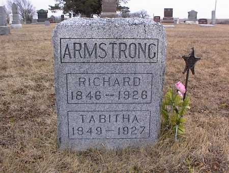 ARMSTRONG, RICHARD - Guthrie County, Iowa | RICHARD ARMSTRONG