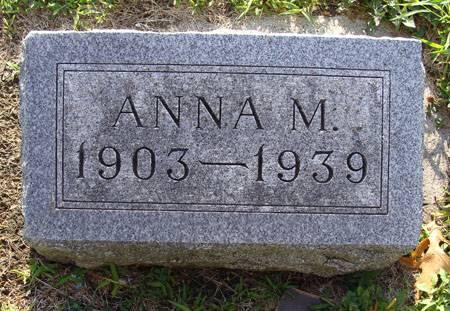 AUPPERLE, ANNA M - Guthrie County, Iowa | ANNA M AUPPERLE