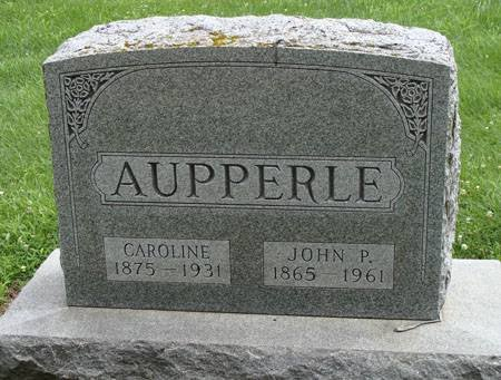 AUPPERLE, CAROLINE - Guthrie County, Iowa | CAROLINE AUPPERLE